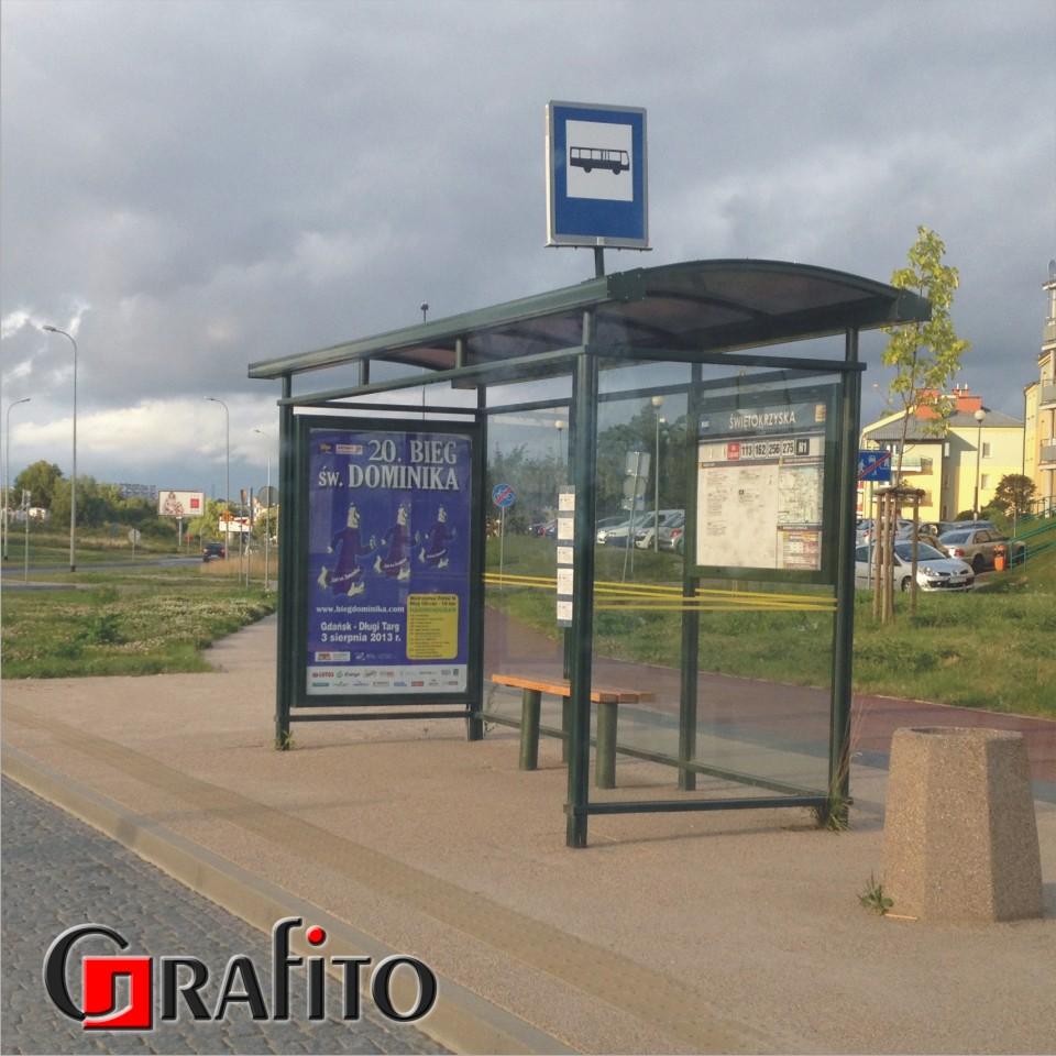 plakaty - CityLight - przystanek autobusowy.